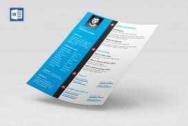 009 Formidable Microsoft Word Template Download Example  Cv Free Portfolio