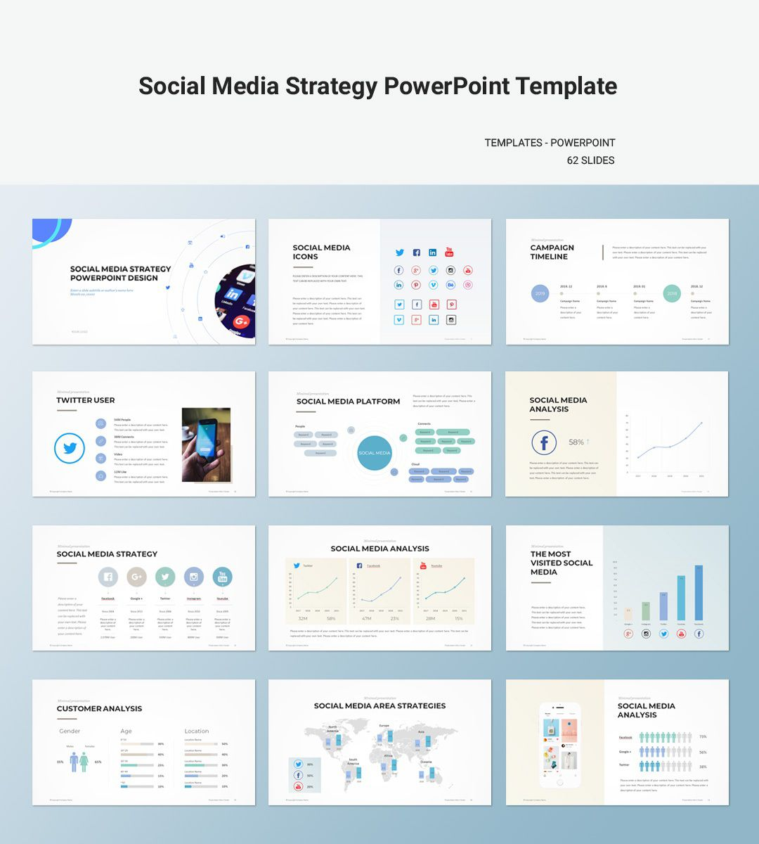009 Formidable Social Media Proposal Template Ppt Concept Full