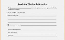 009 Formidable Tax Donation Receipt Template Design  Canadian Charitable Letter Church Deduction
