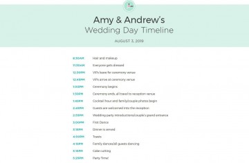 009 Formidable Wedding Day Itinerary Template Design  Sample Excel Word360