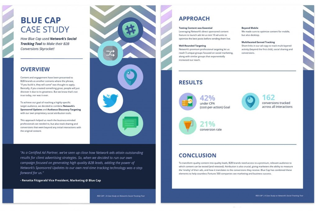 009 Frightening Busines Case Study Template Concept  One Page Download PptLarge