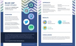 009 Frightening Busines Case Study Template Concept  One Page Download Ppt