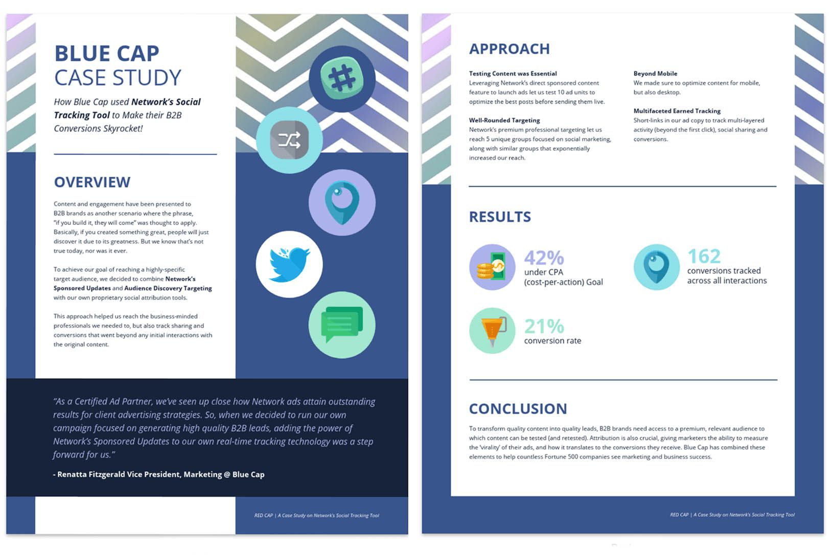 009 Frightening Busines Case Study Template Concept  One Page Download PptFull