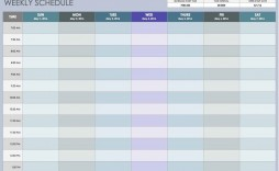 009 Frightening Excel Weekly Timetable Template Image  Planner 2020 Meal 2019