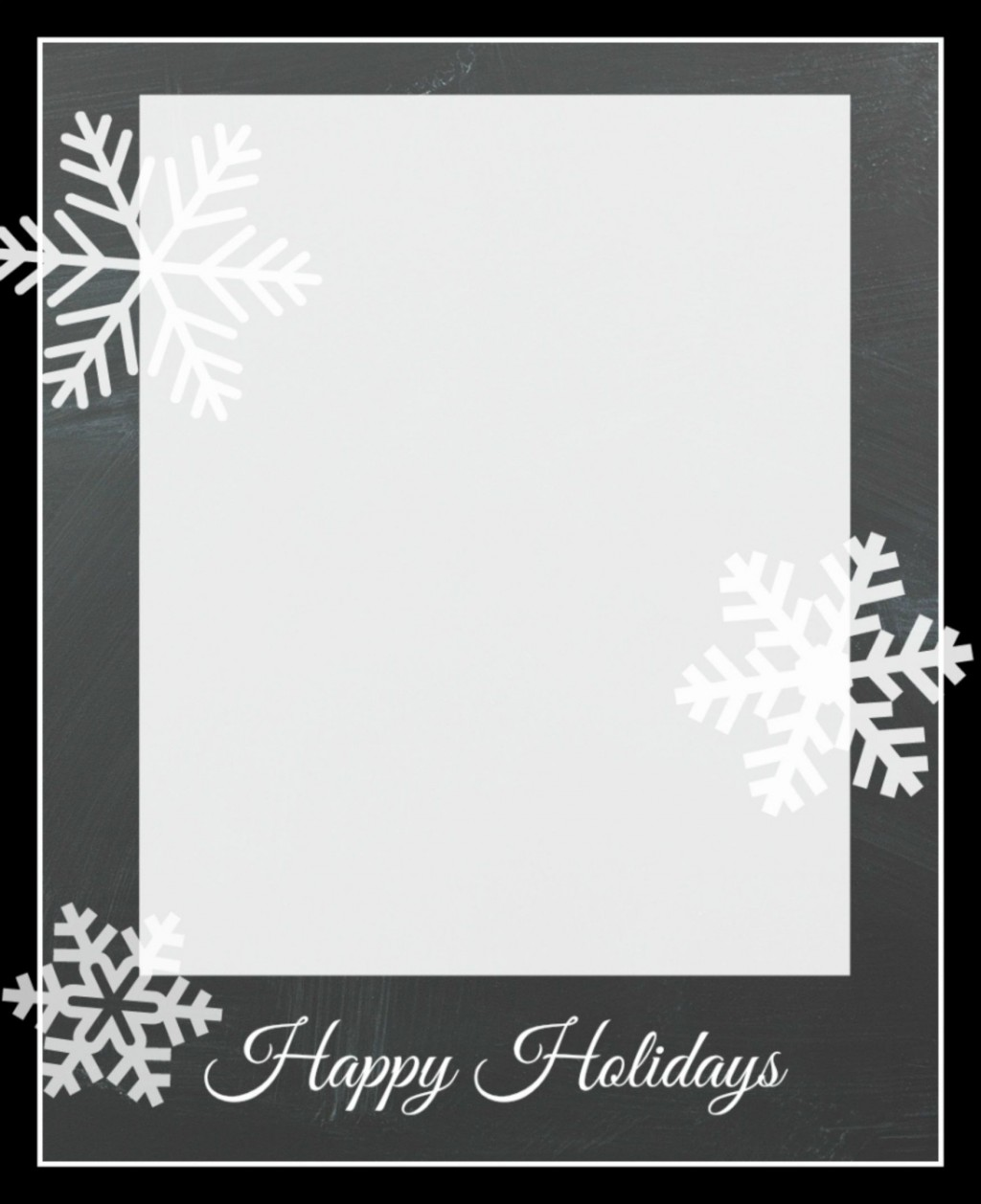 009 Frightening Free Holiday Card Template Sample  Templates Printable Photo For WordLarge