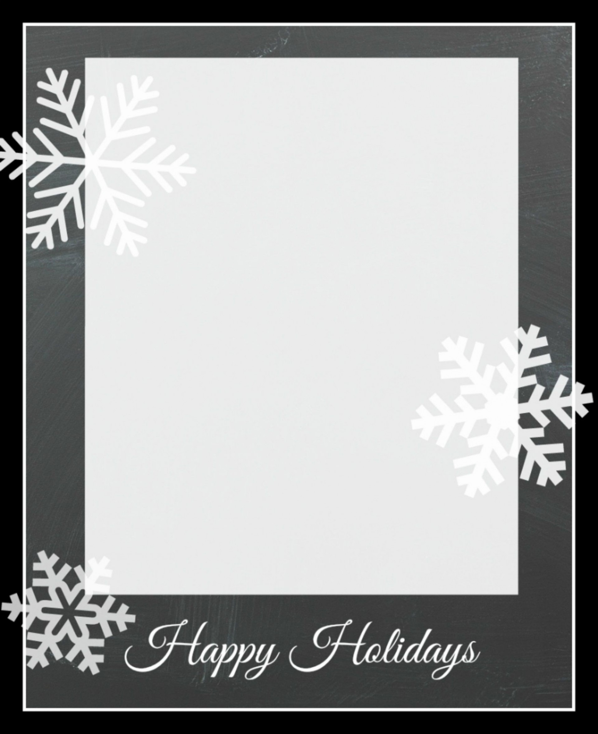 009 Frightening Free Holiday Card Template Sample  Templates Printable Photo For Word1920