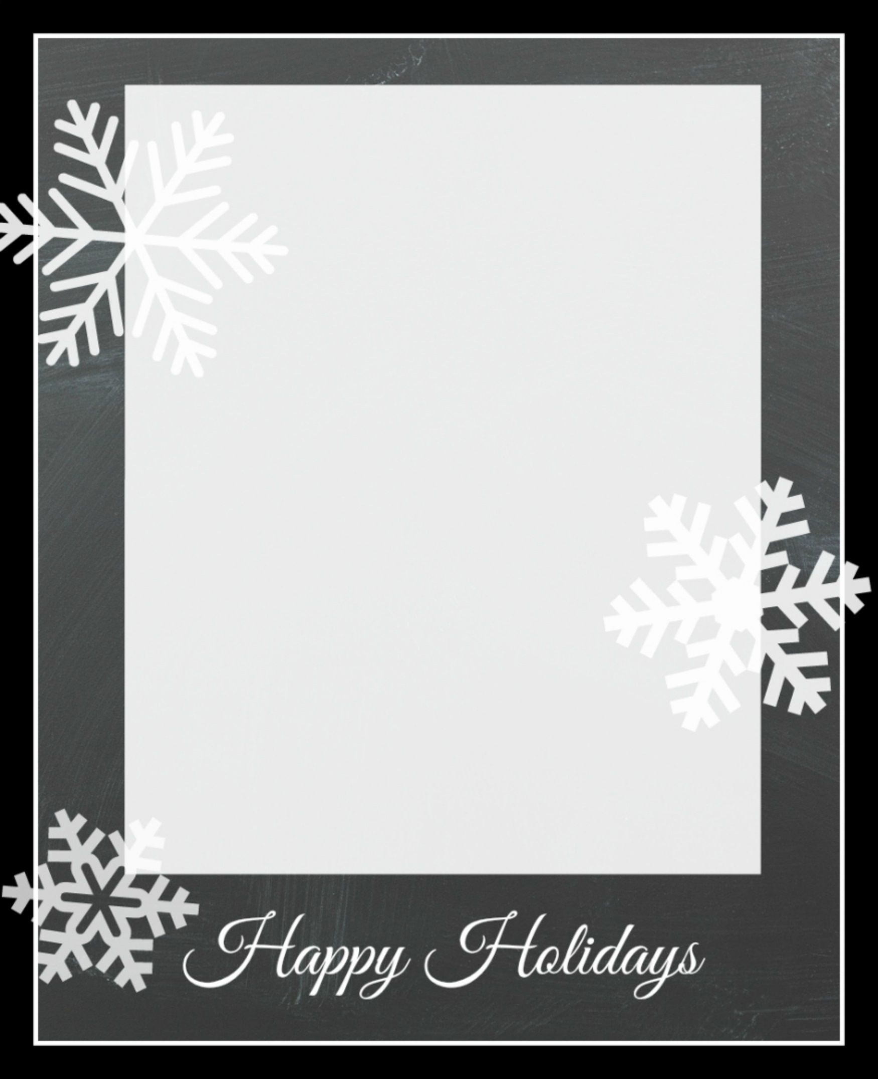 009 Frightening Free Holiday Card Template Sample  Templates Printable Photo For WordFull