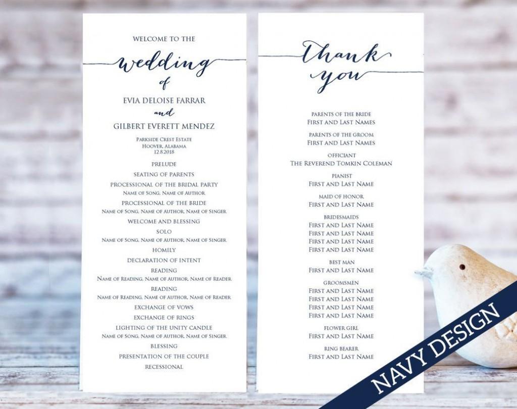 009 Frightening Free Printable Wedding Program Template High Def  Templates Microsoft Word IndianLarge