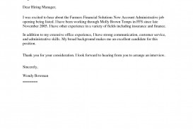 009 Frightening Generic Cover Letter For Resume Photo  General Example