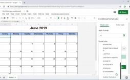 009 Frightening Google Sheet Calendar Template Image  Templates Monthly Spreadsheet 2020 2018