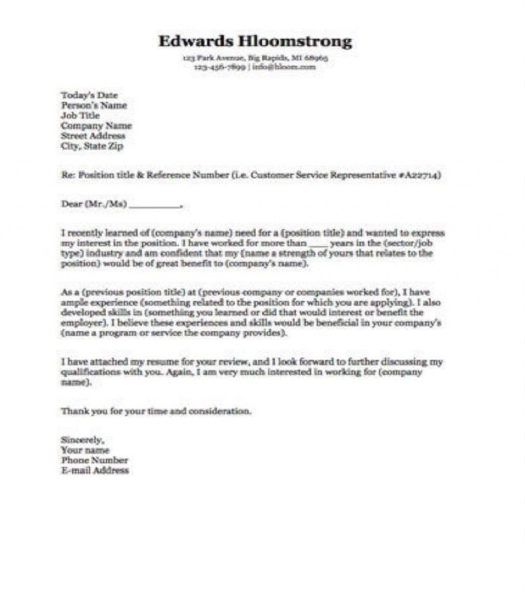 009 Frightening Microsoft Cover Letter Template 2020 High Definition Large
