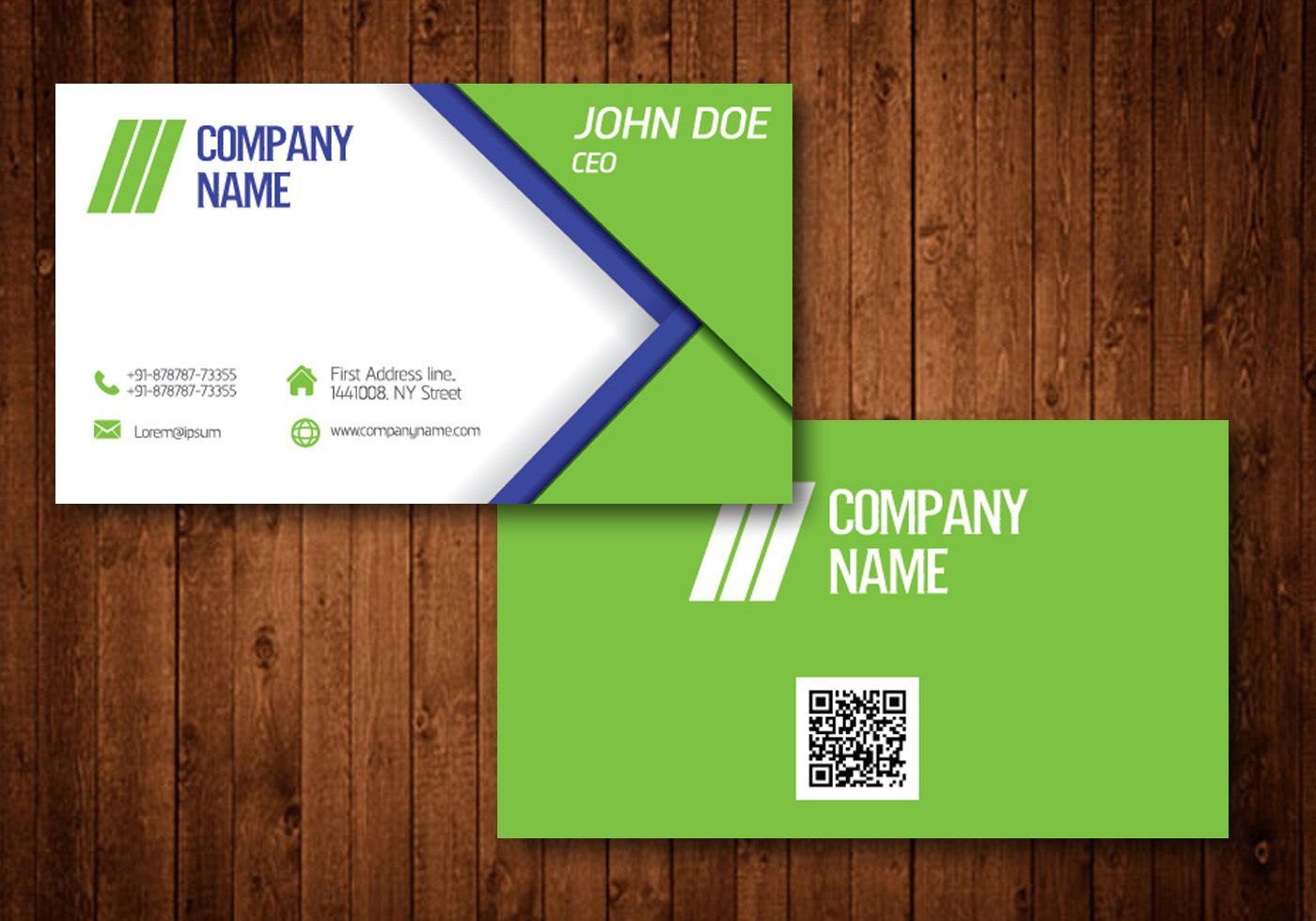009 Frightening Name Card Template Free Download High Def  Table Ai WeddingFull