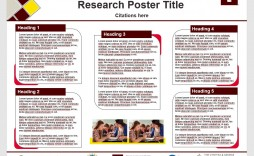 009 Frightening Research Poster Template Powerpoint Highest Clarity  Scientific Ppt