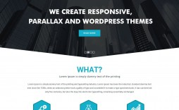 009 Frightening Simple One Page Website Template Free Download Inspiration  Html With Cs