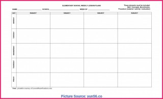 009 Frightening Weekly Lesson Plan Template Editable Idea  Google Doc Preschool Downloadable Free320