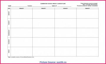 009 Frightening Weekly Lesson Plan Template Editable Idea  Google Doc Preschool Downloadable Free360