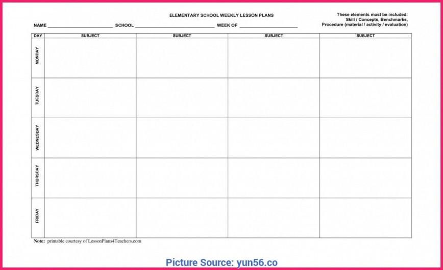 009 Frightening Weekly Lesson Plan Template Editable Idea  Google Doc Preschool Downloadable Free868