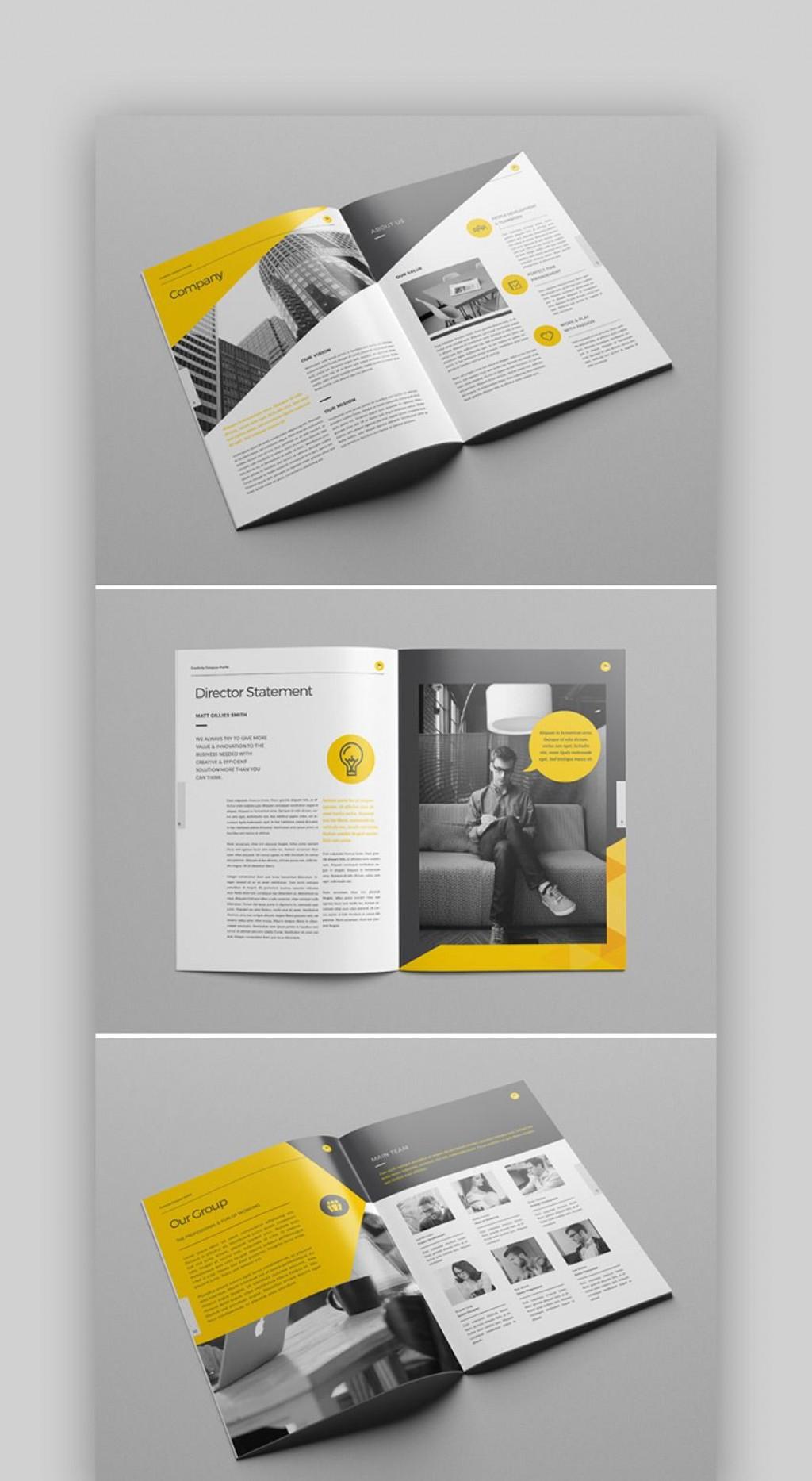 009 Imposing Adobe Indesign Brochure Template Free Download Design Large