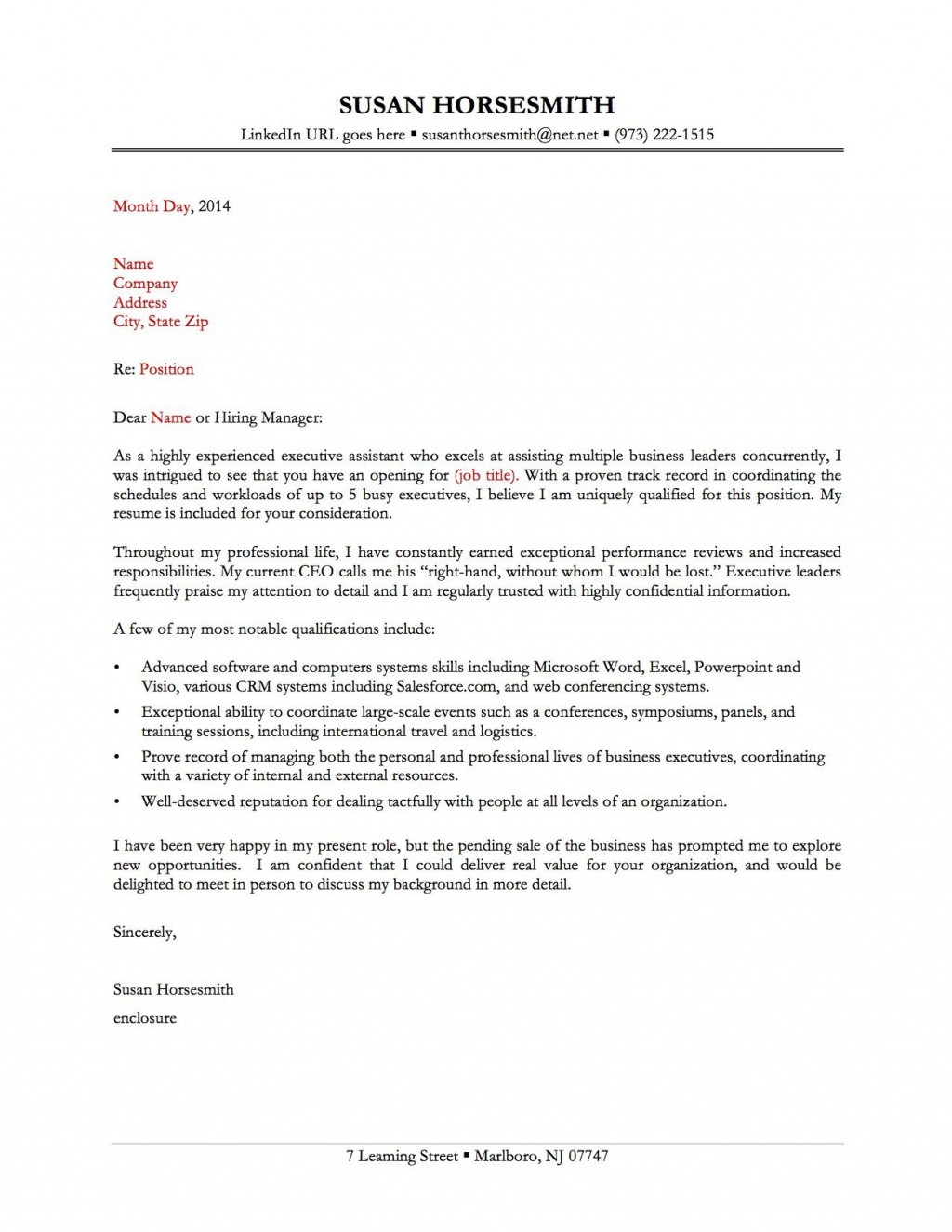 009 Imposing Best Covering Letter Example Photo  Examples Sample UkLarge