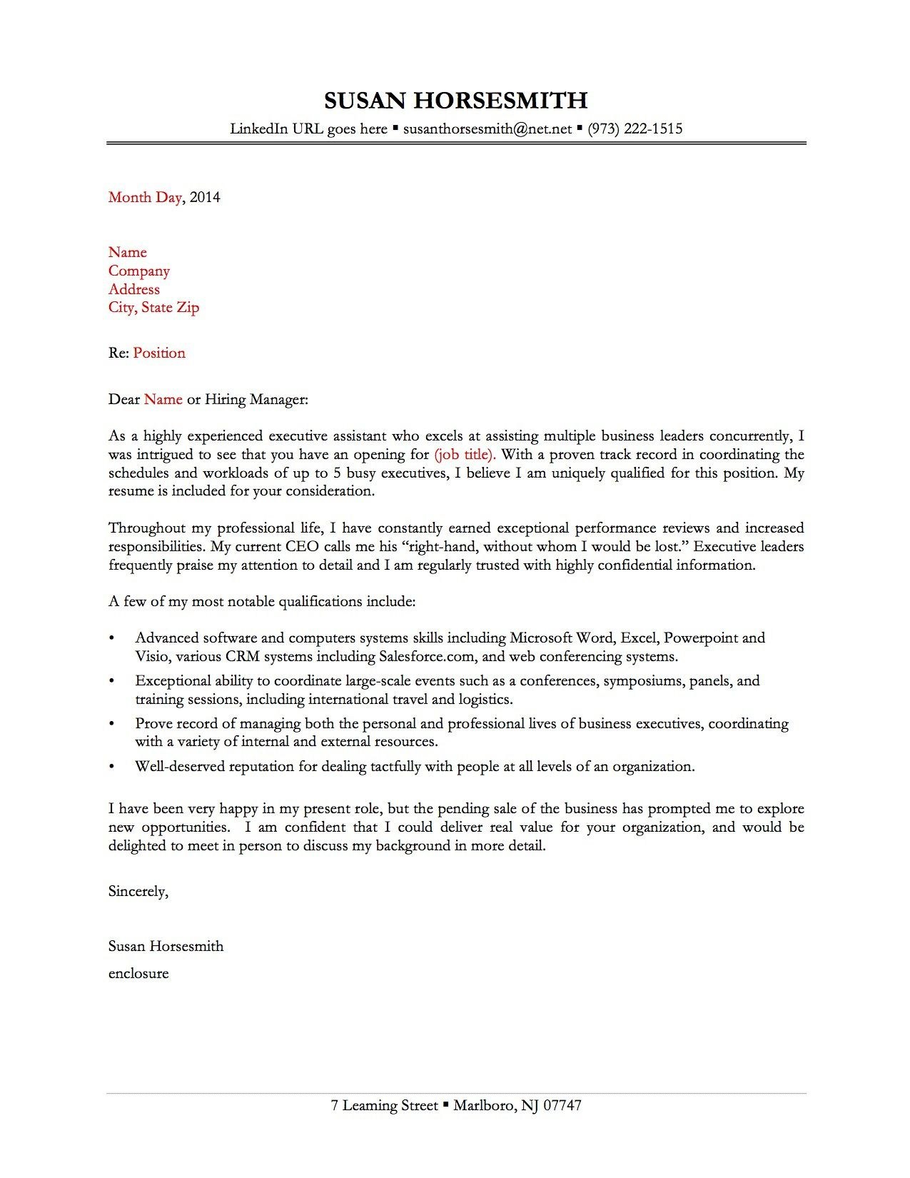 009 Imposing Best Covering Letter Example Photo  Examples Sample UkFull