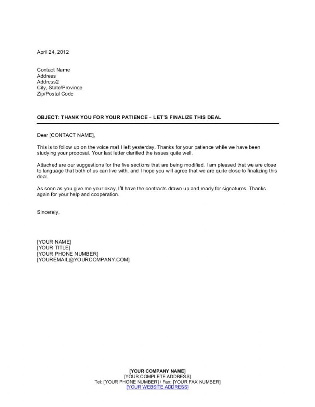 009 Imposing Busines Proposal Letter Template Concept  Free DownloadLarge