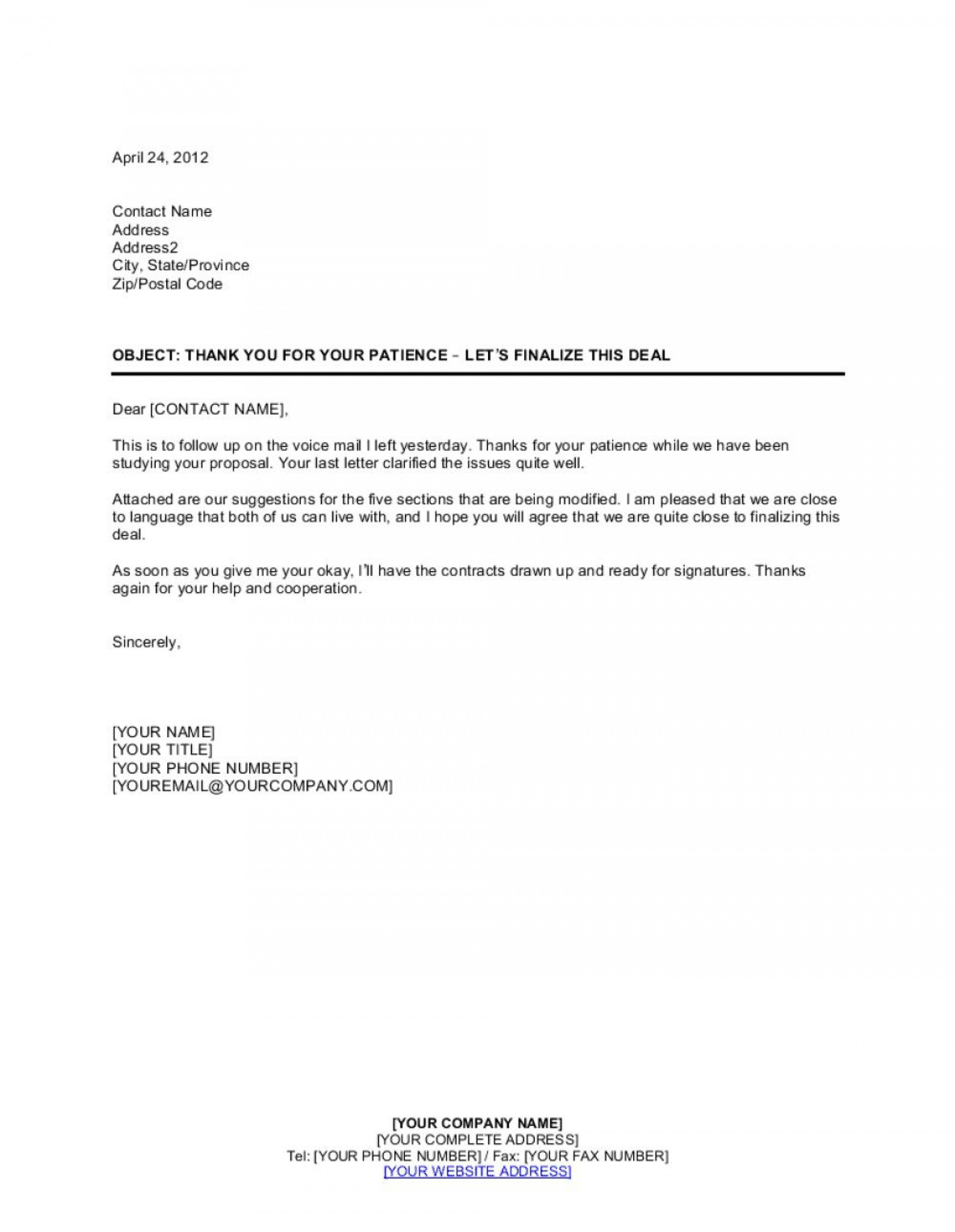 009 Imposing Busines Proposal Letter Template Concept  Free Download1920