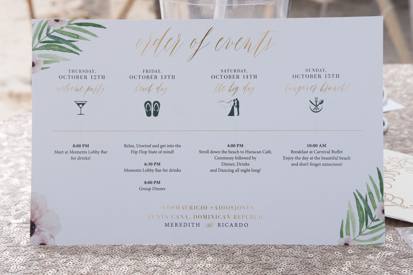 009 Imposing Destination Wedding Welcome Letter Template Design  And ItineraryFull