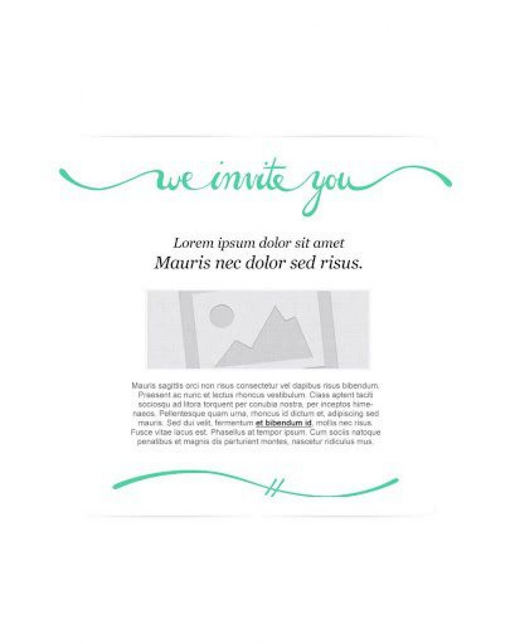 009 Imposing Free Email Invitation Template Design  Ecard Wedding Party Invite For OutlookLarge