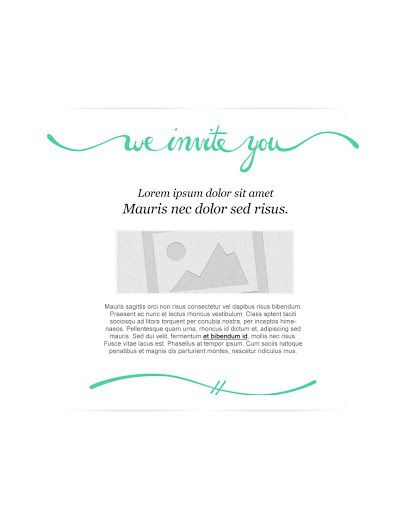 009 Imposing Free Email Invitation Template Design  Ecard Wedding Party Invite For OutlookFull