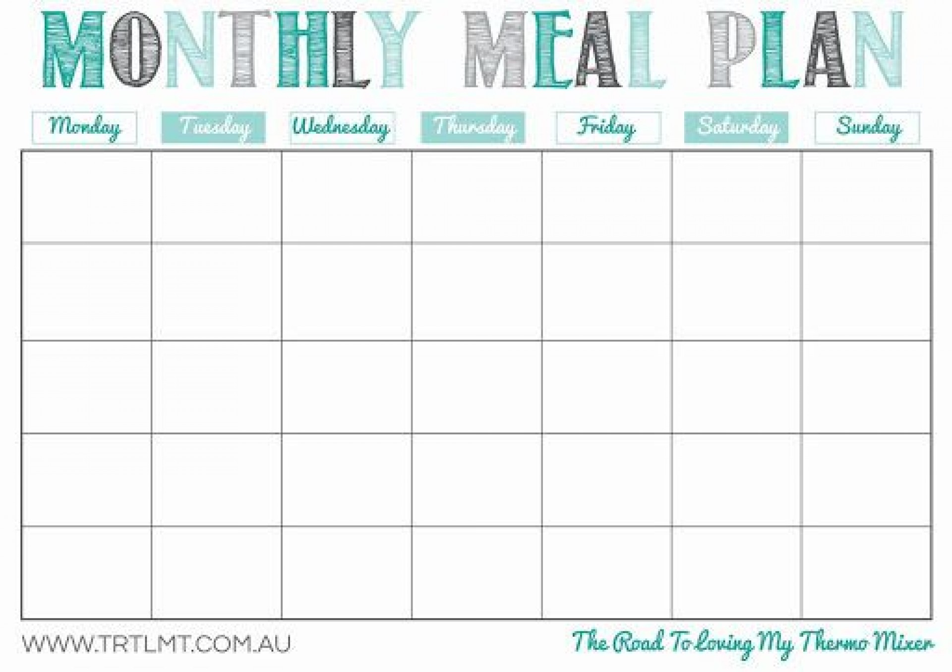 009 Imposing Free Meal Planner Template For Weight Los High Resolution  Loss1920