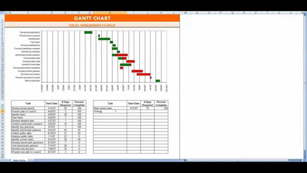 009 Imposing Gantt Chart Template In Excel 2020 Idea  FreeLarge