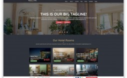 009 Imposing Hotel Website Template Html Free Download Picture  With Cs Responsive Jquery And Restaurant