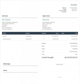 009 Imposing Invoice Template Free Download High Definition  Excel Service Word Format Gst Html320
