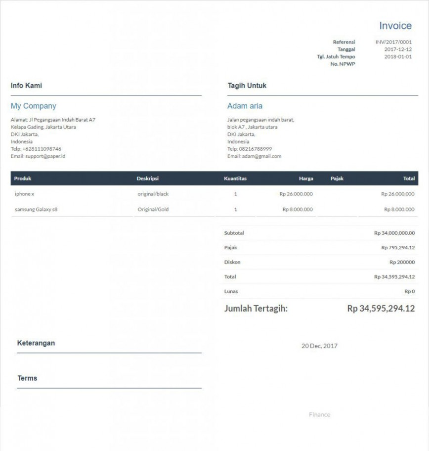 009 Imposing Invoice Template Free Download High Definition  Excel Service Word Format Gst Html868