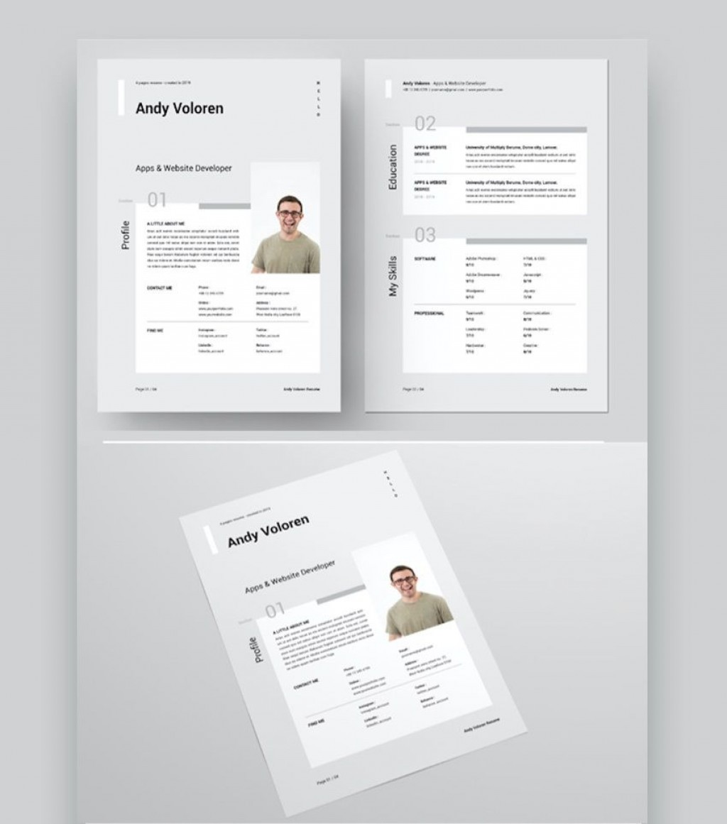 009 Imposing Microsoft Word Design Template Sample  Templates Brochure Free MLarge