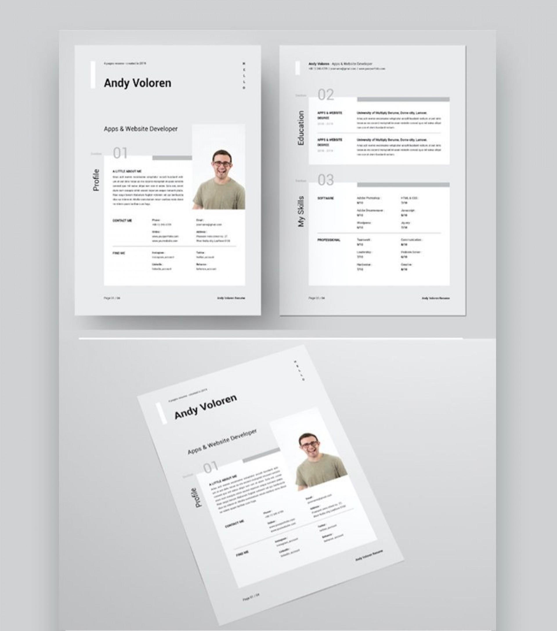009 Imposing Microsoft Word Design Template Sample  Templates Brochure Free M1920
