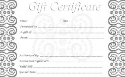 009 Imposing Printable Gift Certificate Template Sample  Card Free Christma Massage