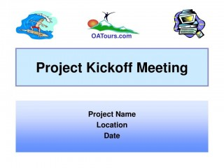 009 Imposing Project Kickoff Meeting Powerpoint Template Ppt Example  Kick Off Presentation320