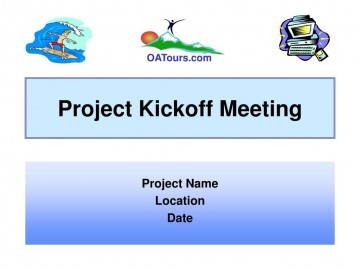009 Imposing Project Kickoff Meeting Powerpoint Template Ppt Example  Kick Off Presentation360