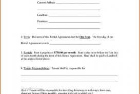 009 Imposing Renter Lease Agreement Form High Definition  Rent Format In Tamil Florida Rental Printable