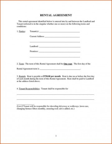 009 Imposing Renter Lease Agreement Form High Definition  Rent Format In Tamil Florida Rental Printable360