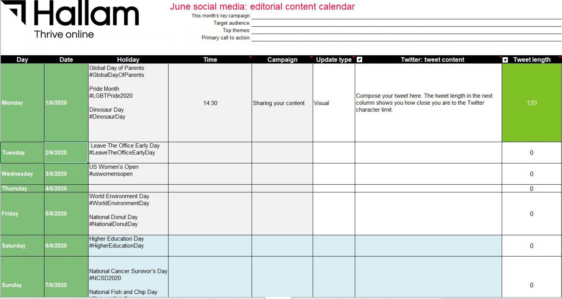 009 Imposing Social Media Editorial Calendar Template Concept  Content Excel 2020 Free Download1920