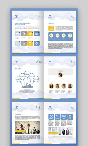 009 Imposing Social Media Proposal Template Image  Plan Sample Pdf 2018360