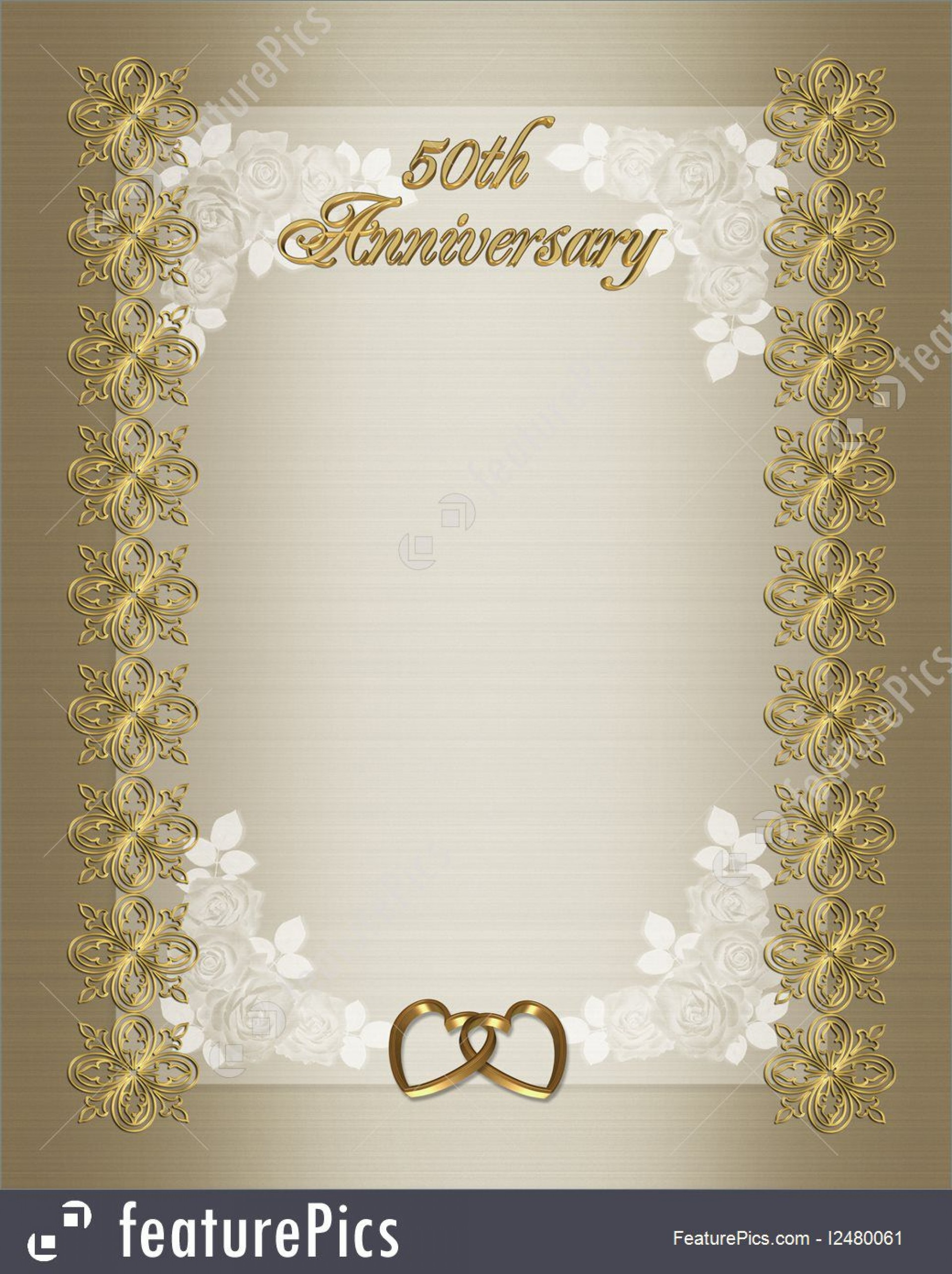 009 Impressive 50th Wedding Anniversary Invitation Sample Inspiration  Samples Free Party Template Card Idea1920