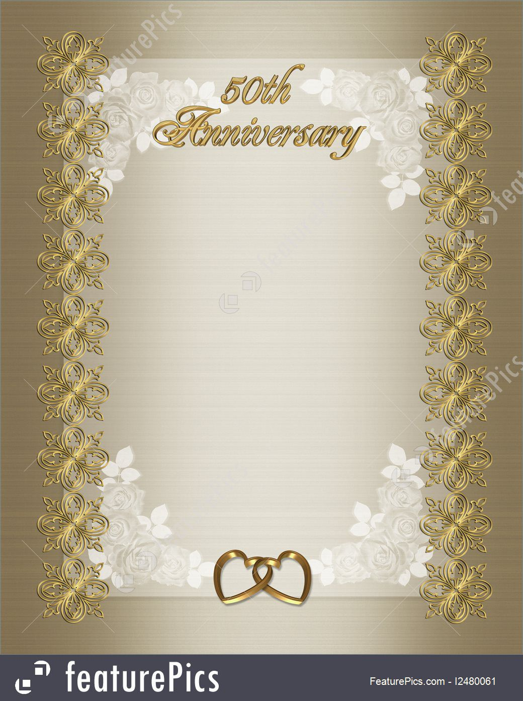 009 Impressive 50th Wedding Anniversary Invitation Sample Inspiration  Samples Free Party Template Card IdeaFull