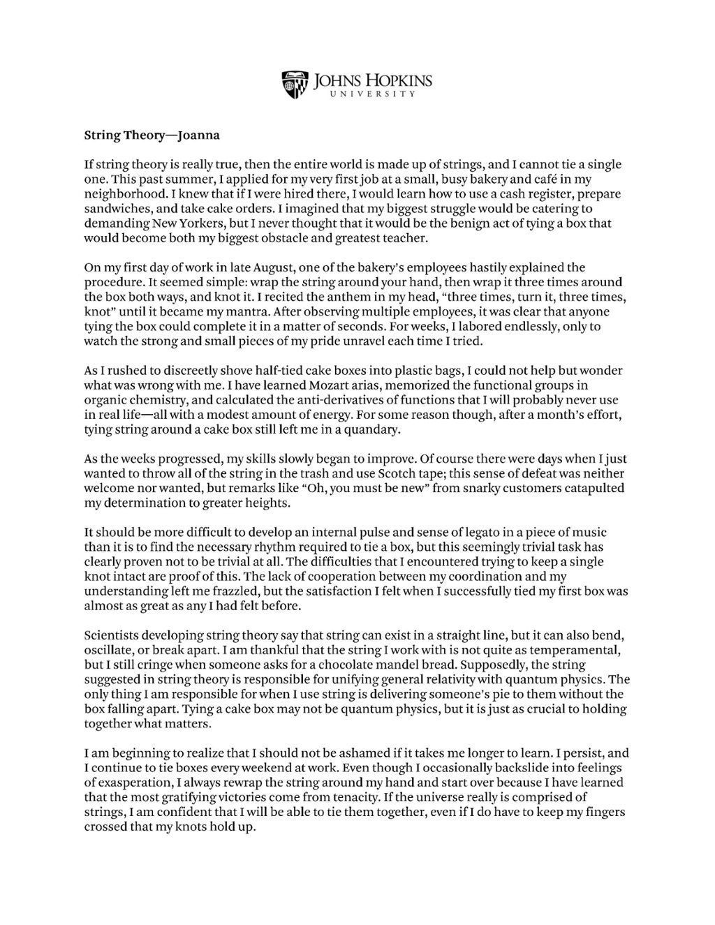 009 Impressive College Essay Format Example Idea  Examples Writing Application Sample AdmissionLarge