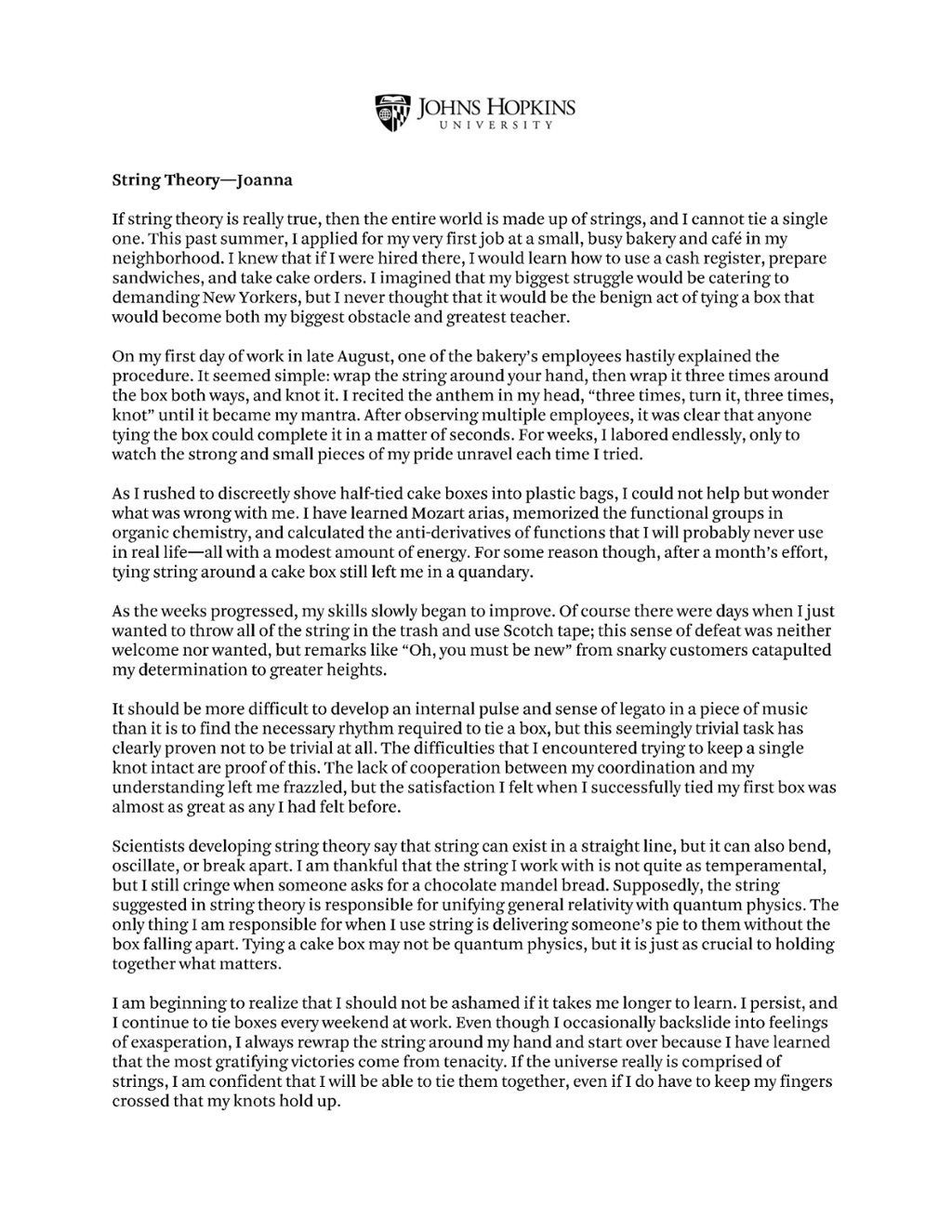 009 Impressive College Essay Format Example Idea  Examples Writing Application Sample AdmissionFull