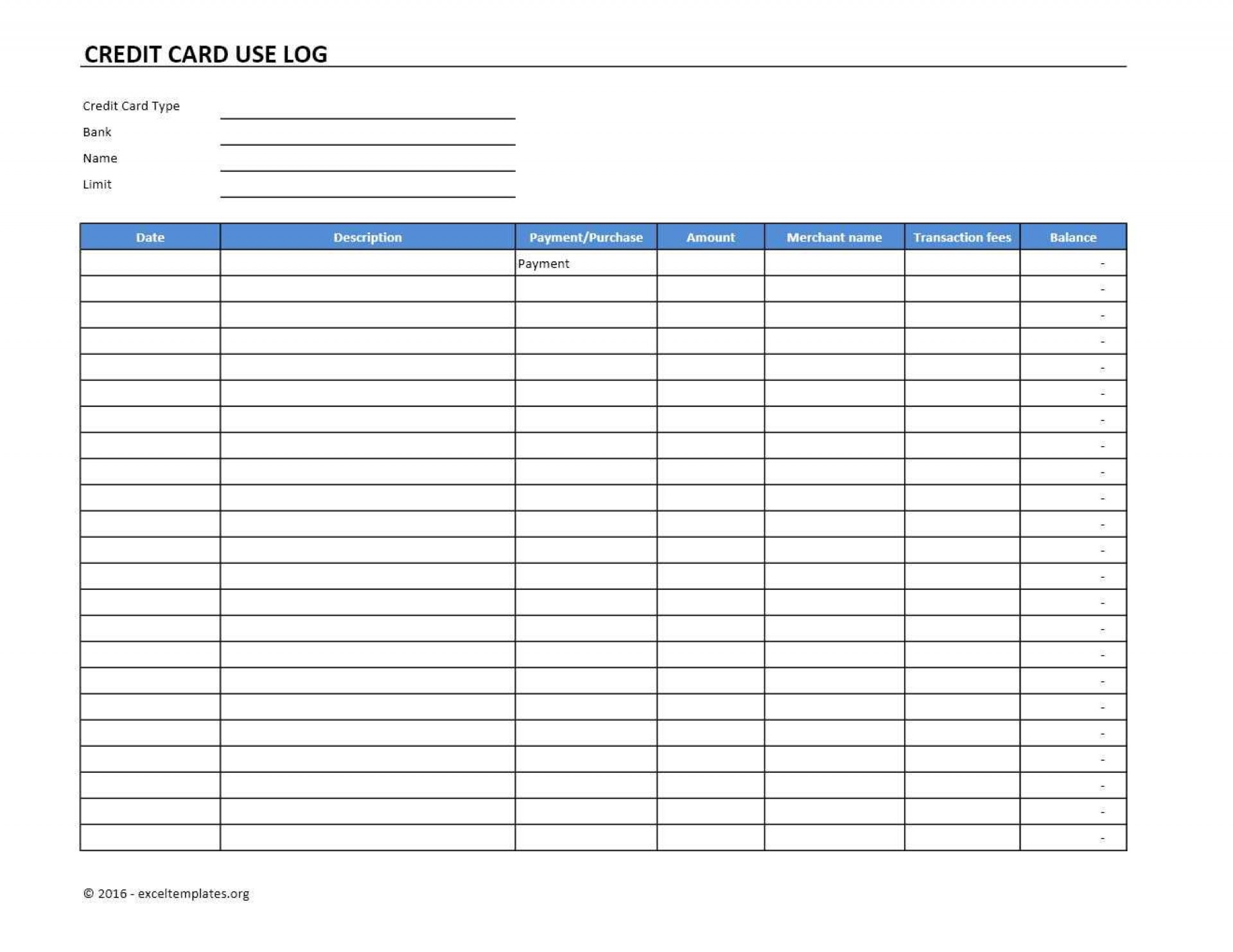 009 Impressive Credit Card Form Template Excel Highest Quality  Authorization Payment1920
