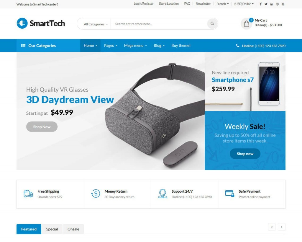 009 Impressive Ecommerce Website Template Html Free Download Highest Clarity  Bootstrap 4 Responsive With Cs JqueryLarge