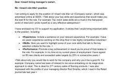 009 Impressive Excellent Covering Letter Example Inspiration  Examples